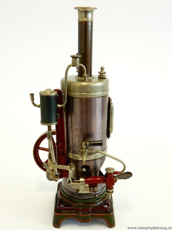 Holzgriff für Dampfmaschine 3